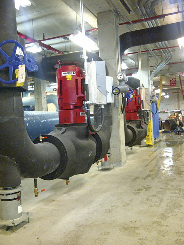 Design envelope VIL pump with integrated controller