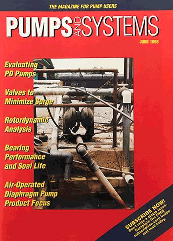 Pumps & Systems, June 1993, cover