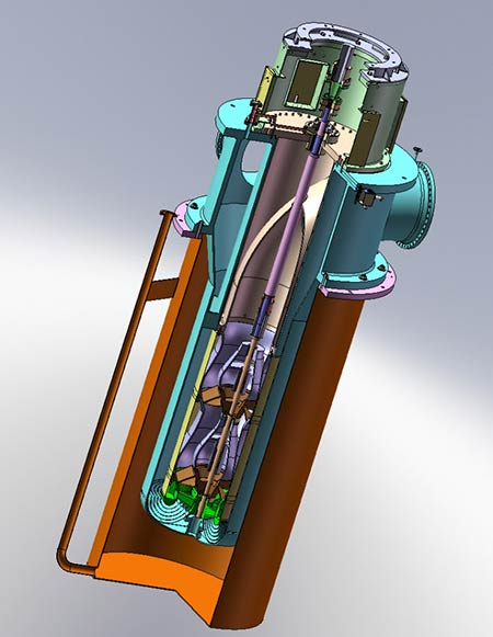 image 2 custom built vertical pipeline pump