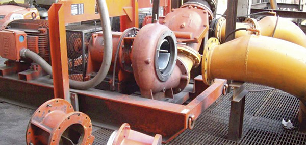 Single-stage, overhung impeller centrifugal pump