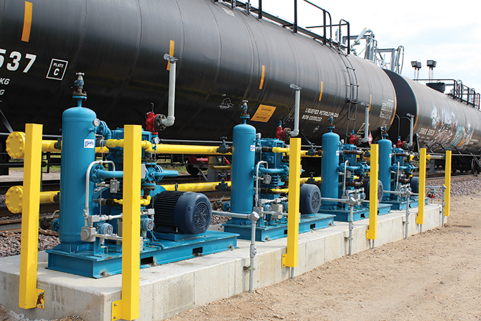 Image 1. When it was announced that the Cochin pipeline would no longer be used to deliver propane into the U.S., Minnesota-based Alliance Midstream LLC saw this as an opportunity to establish a new rail-supplied facility.