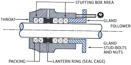 Figure 1. Packing in a stuffing box (Graphics courtesy of FSA)