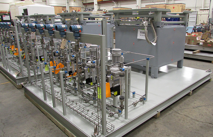 Chemical Piping Systems : Finding the right pumps for chemical feed systems