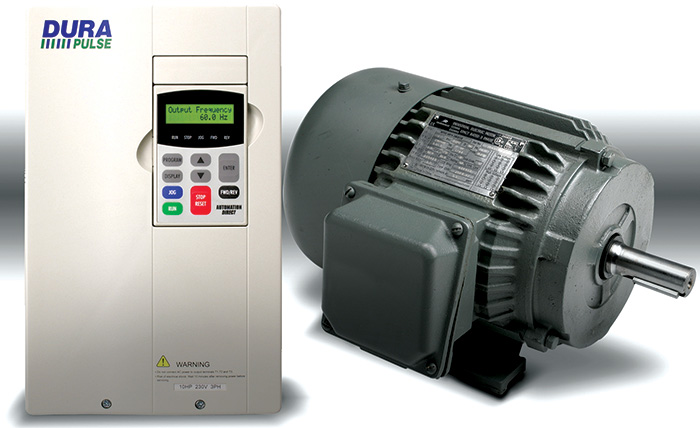 Variable frequency drives and motors can save significant energy by controlling motor speed