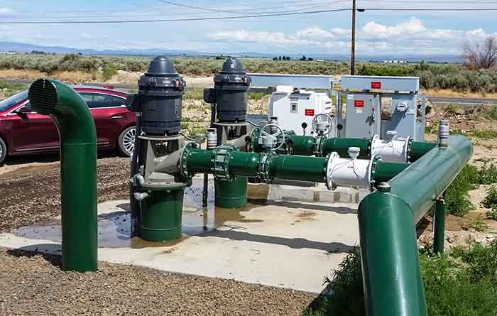 two pump system
