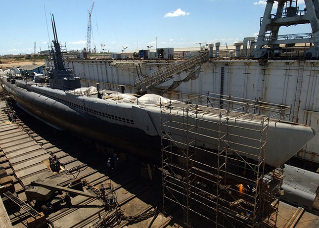 Image 1. The Pearl Harbor Dry Dock allows operators to perform necessary repairs to Navy ships and submarines between service. (Courtesy of PcVue, Inc.)