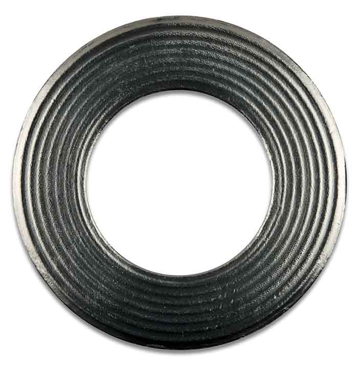 Image 3. Corrugated metal gasket with flexible graphite cover
