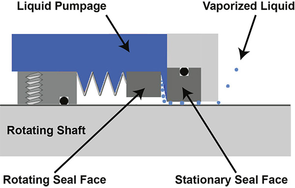 Figure 1. Common mechanical seal (Images and graphics courtesy of EASA)
