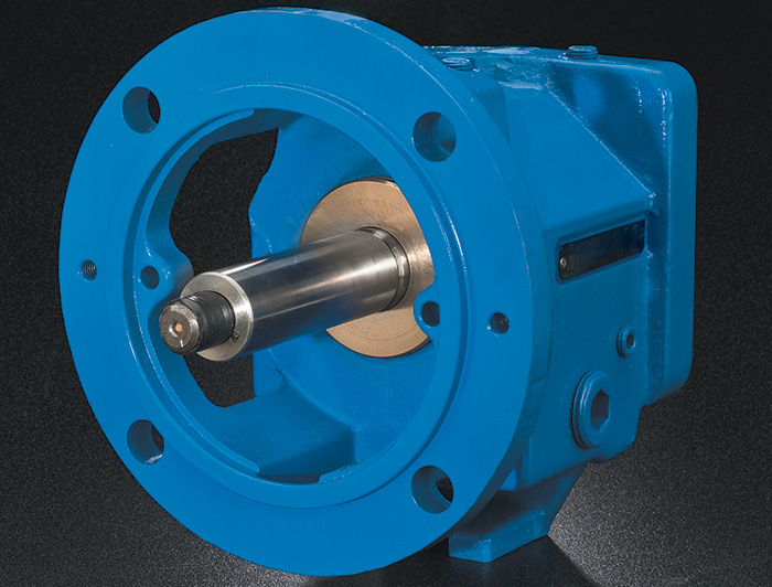Blue bearing isolator