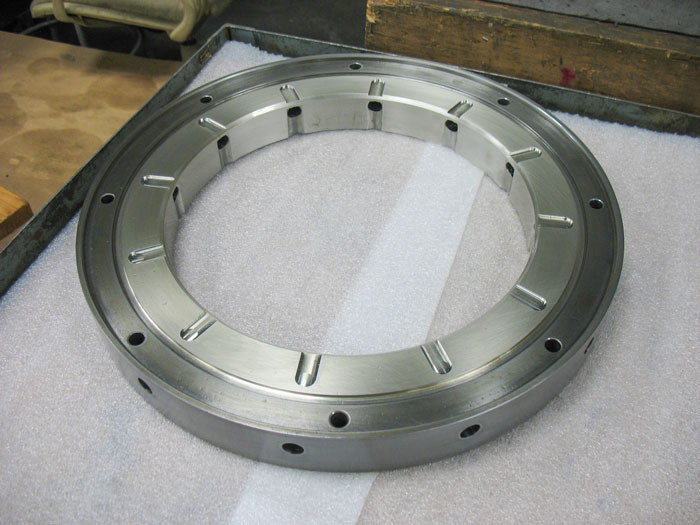 flat land thrust bearing