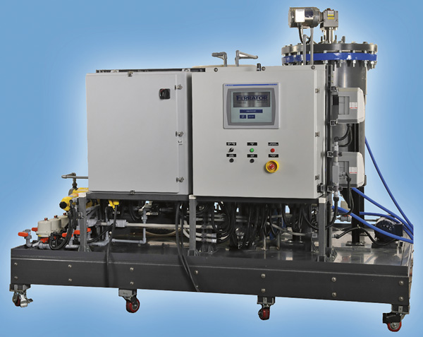 Fully automated water treatment system
