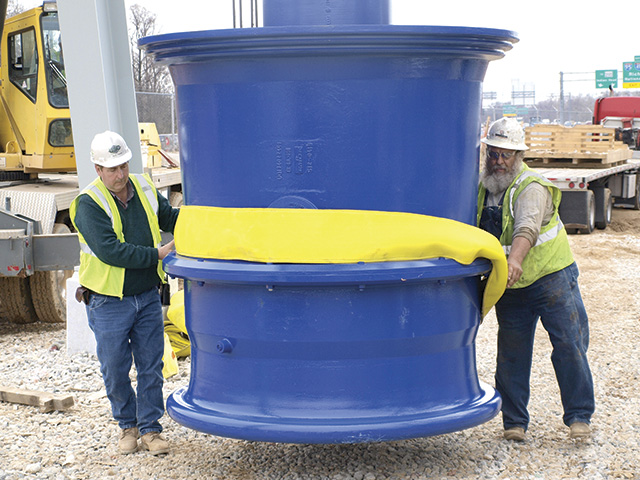 The largest submersible propeller pumps produced by the project's pump manufacturer.