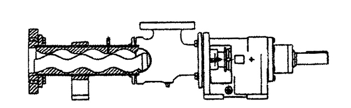 Single screw pump (progressing cavity)