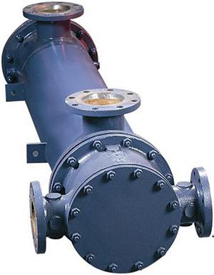 图2.热交换器的标准设计(由Xylem Bell和Gossett提供)