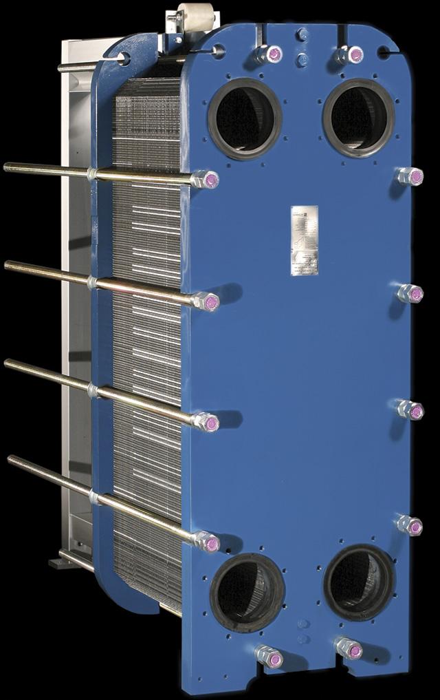 图3.板框式热交换器(由Sondex,Inc.提供)
