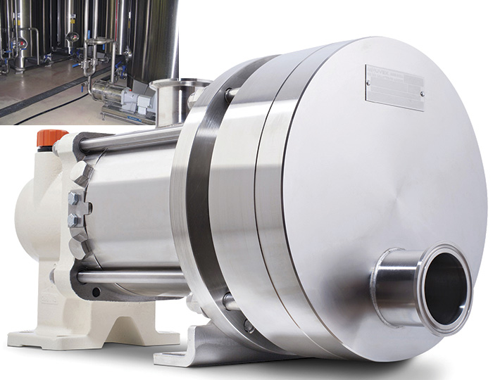 Image 1. While finished food products can be messy, their production must be pristine, which is why many food processors are benefiting from the incorporation of eccentric disc pumps into their operations. (Images and graphics courtesy of Mouvex)