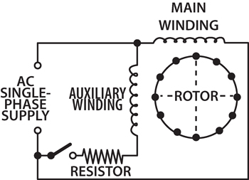 Electric Motor Drum Switch Wiring Diagram also Wiring A 220 Well Pump additionally Franklin Electric Motor Control 51434 besides Few Words About Capacitor Start Cs Motors also 108. on single phase motor with centrifugal switch wiring diagram