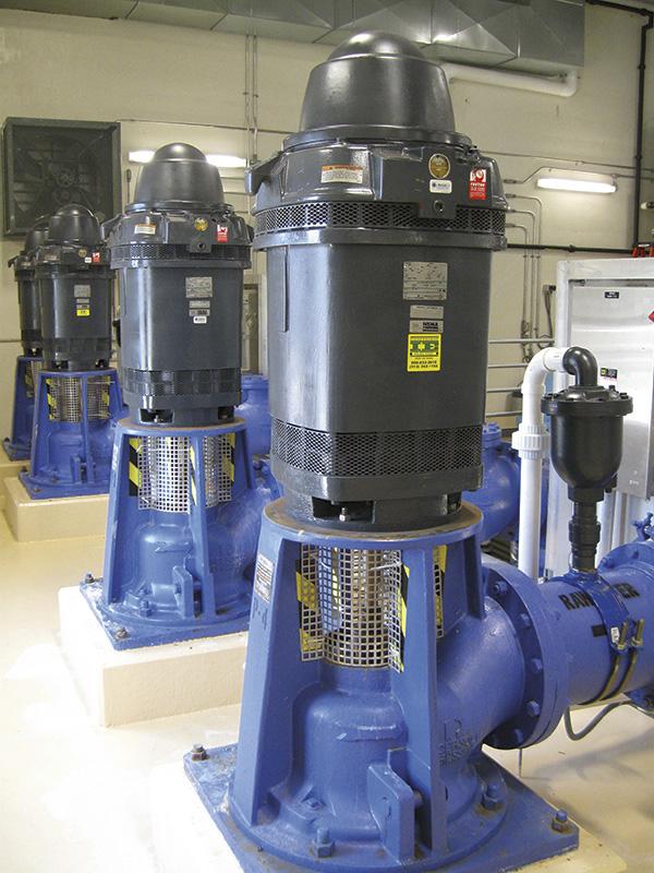 Mitigate Electrical Bearing Damage in Vertical Pump Motors