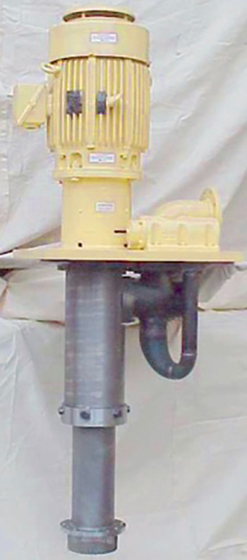 Image 3. Vertical tank-mounted pump/motor