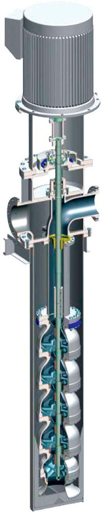 Vertical Multistage Can Pump