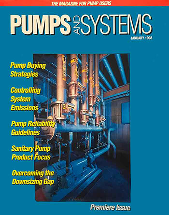cover of Pumps & Systems January 1993 issue