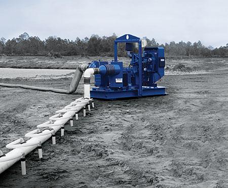 Wellpoint pump application