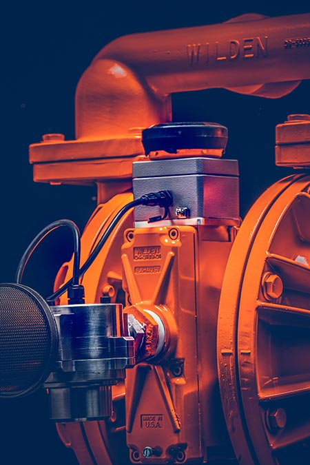 AODD pump operation