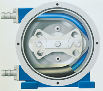 Counterclockwise rotation in a rotary pump