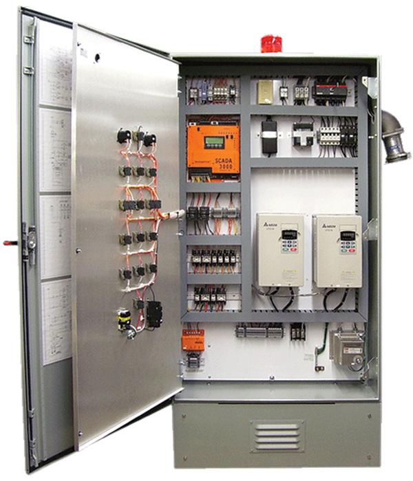 modern custom control panel