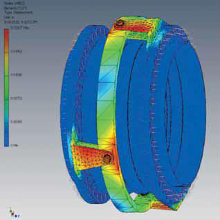 Expansion joint FEA