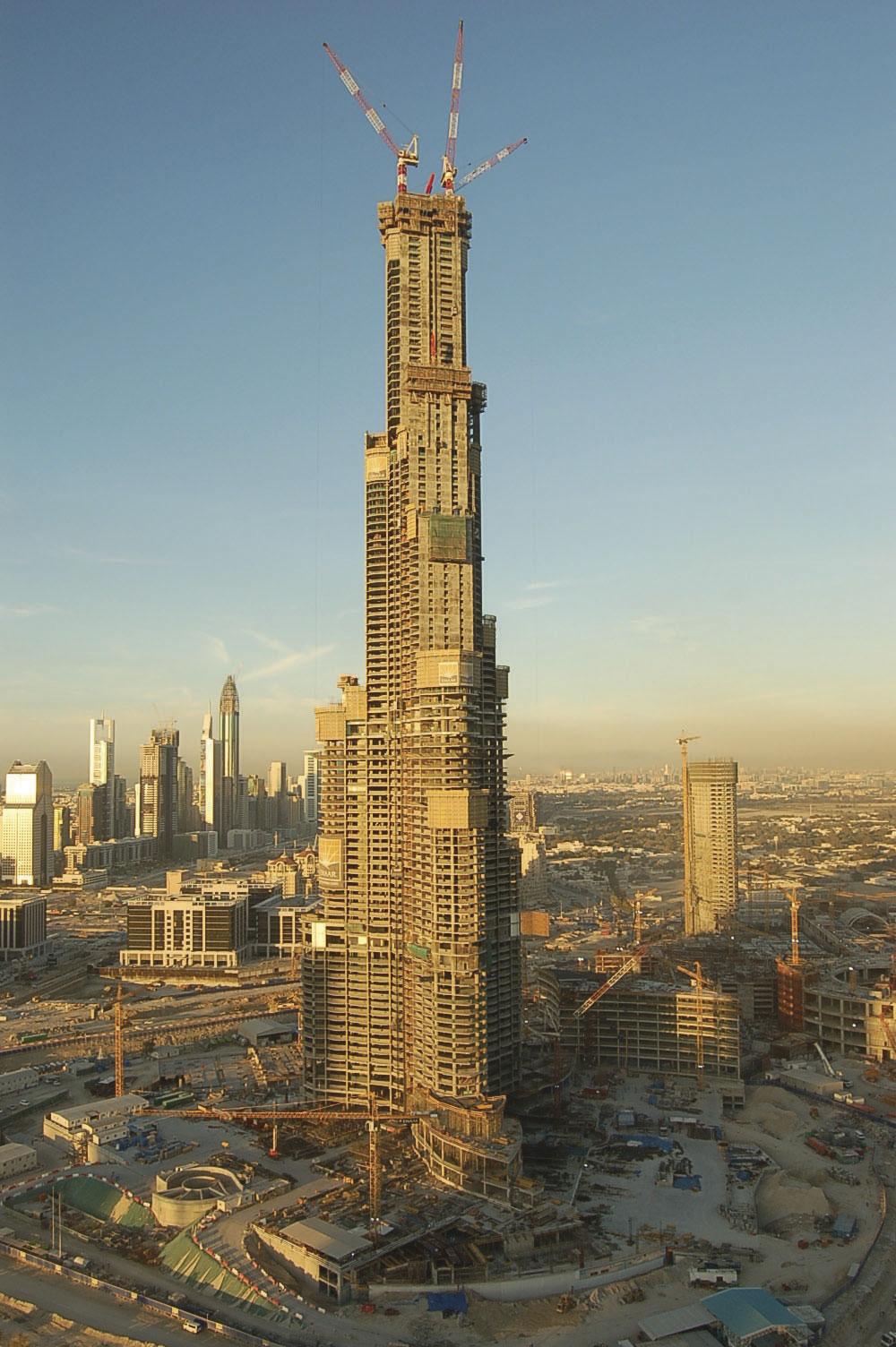 Concrete Pumps Reach Record Breaking Heights At Burj Khalifa