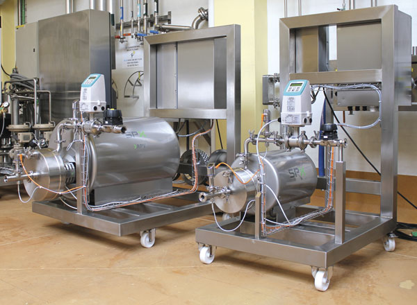 Image 1. The cavitator has multiple applications including pre-treatment and structural conditioning of milk and whey. (Images and graphics courtesy of SPX Flow Technology)