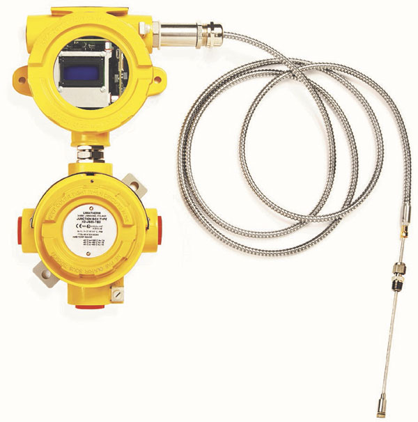 Image 1. One device uses ultrasonic technology to monitor the process liquids that lubricate the bearings in the sealless magnetic drive pump.(Images courtesy of Sundyne)