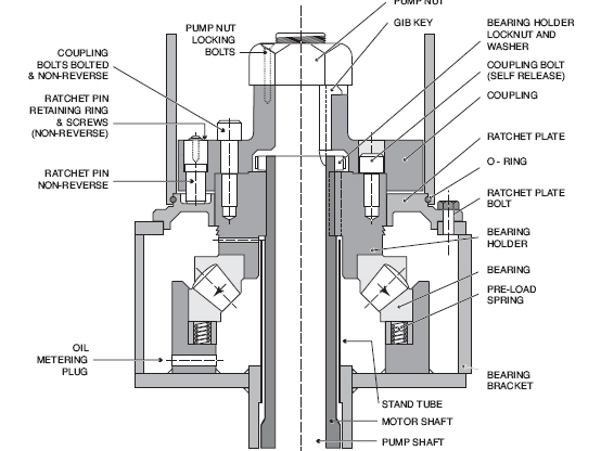 Operation and maintenance of vertical motors for Electric motor sleeve bearing lubrication