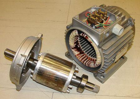 Stator, rotor and motor housing