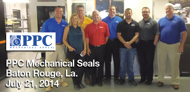 Pumps & Systems on Tour visits PPC Mechanical Seals
