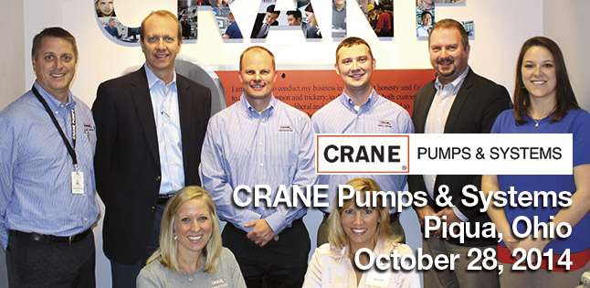 Pumps & Systems on Tour visits CRANE Pumps & Systems