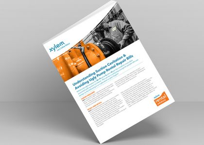 Xylem: What is Pump Cavitation white paper