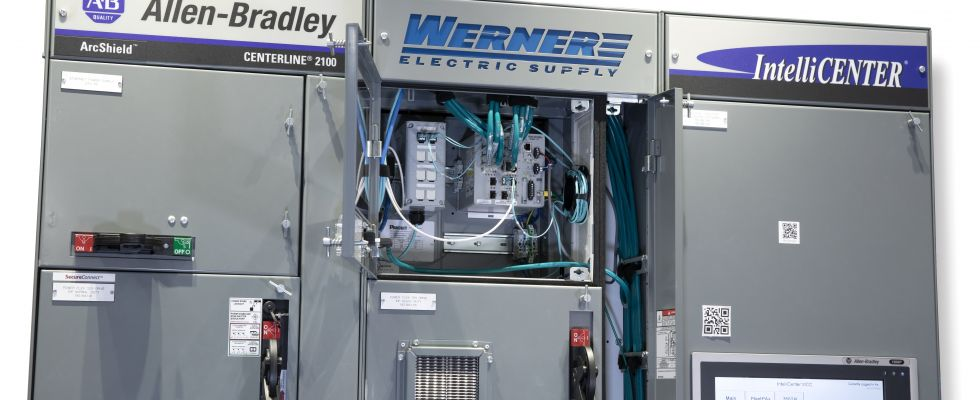 Motor Control Center (Image courtesy of Werner Electric)