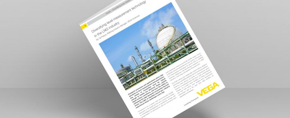 Diversifying level measurement technology in the LNG industry