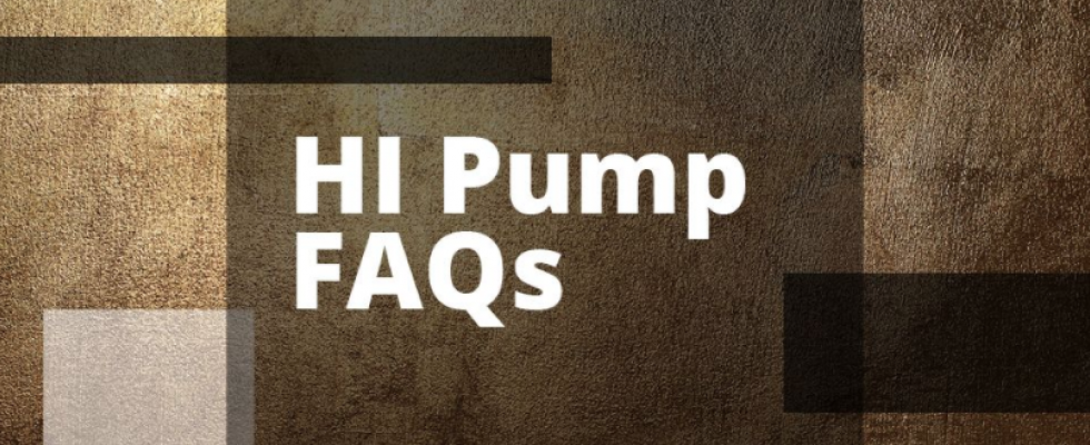 hi pump faq