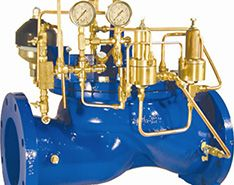 Diaphragm Operated Control Valves Can Stop Surges & Prevent Pipe Bursts