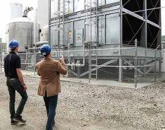 Producing Clean Water for Isolated Steel Mill Cooling Towers
