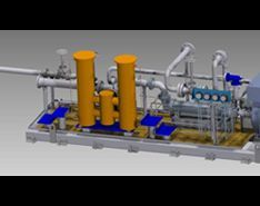 Packaged Fuel Oil Pumping System