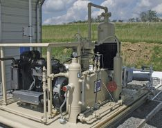 Vapor Recovery Units Reduce Oilfield Emissions