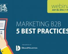 Want to Learn the 5 Best Practices for Marketing B2B?