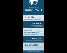 The Global Water Crisis by the Numbers