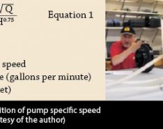 How to Calculate Pump Specific Speed