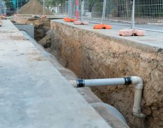 infrastructure stormwater pipes