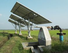 solar power pump for irrigation